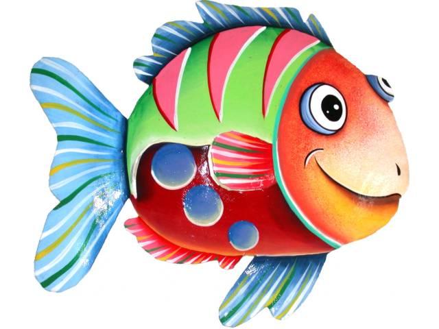 dibujos a color pescados con color