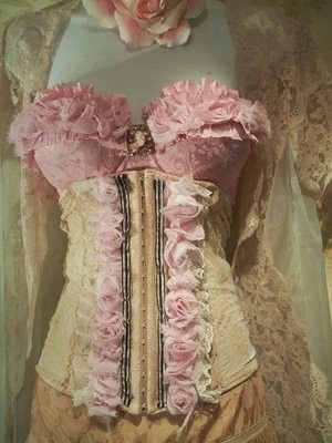 vintage corset  collectibles coach