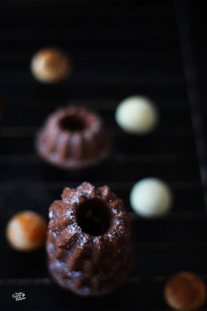le bloggelfe: mini chocolate bundts ma light ! -14 a natale!