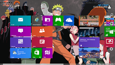 Naruto Road To Ninja Theme For Windows 7 And 8