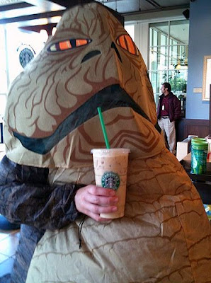 THE VAGETARIAN: Java the Hut: Boska! (come on!) Jabba The Hutt Costume For Dogs