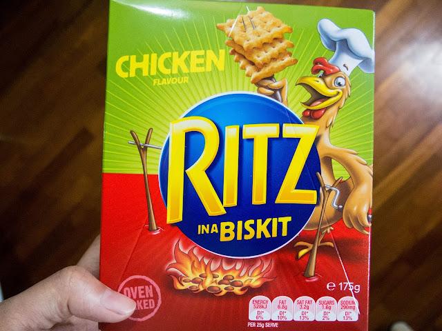 Ritz Chicken in a Biskit Box