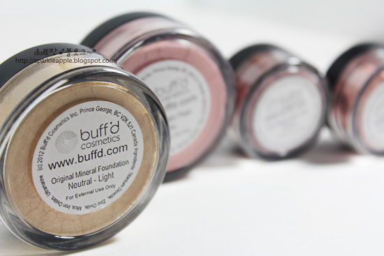 The Best Beauty Blog: Buff'd Cosmetics Mineral Make-up Review