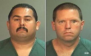 two policemen mugshots who killed Kelly Thomas