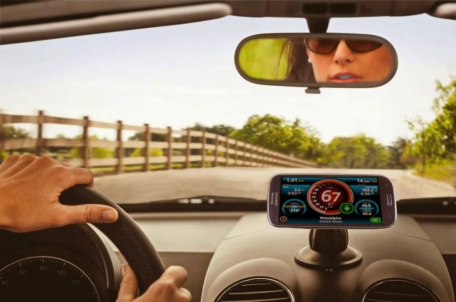 Cara Merubah Smartphone Android Menjadi Speedometer