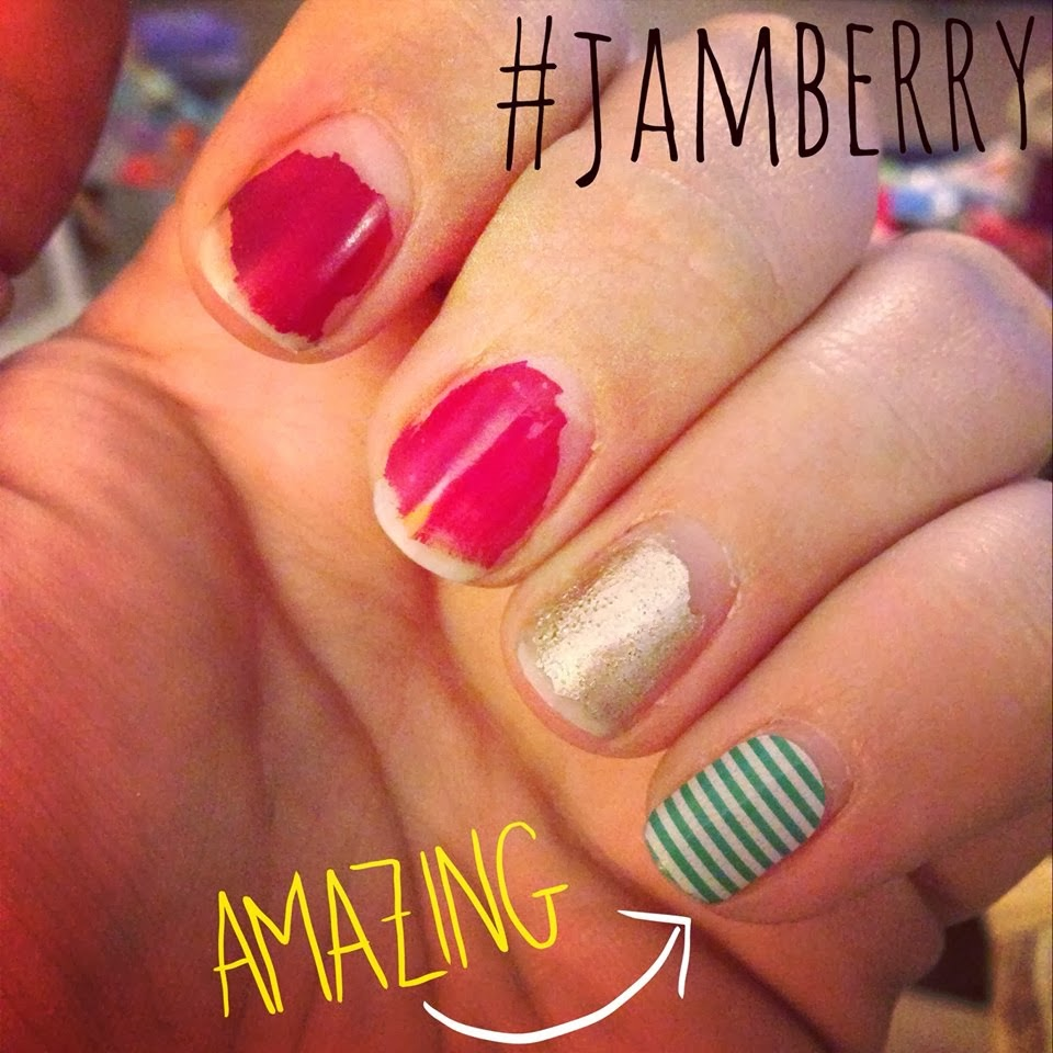 Jamberry Nail Still in Perfect