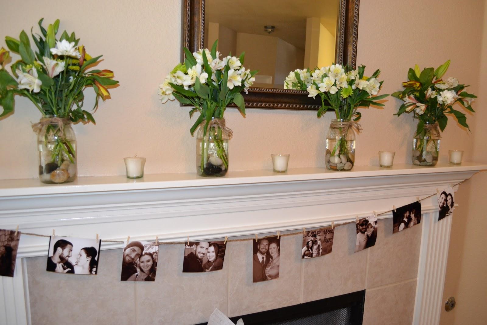 bridal shower table decorations ideaspinterest photograph. Black Bedroom Furniture Sets. Home Design Ideas