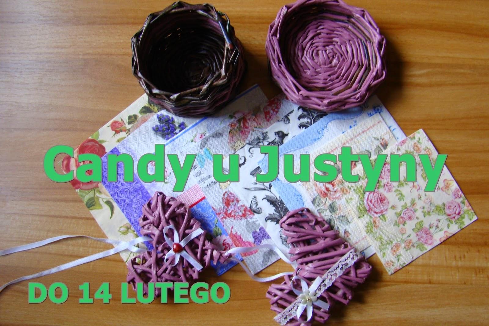 Candy u Justyny- Wygrałam !