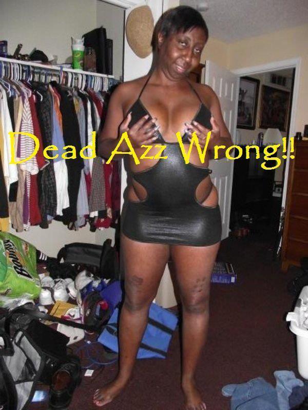 Sexy black grandma