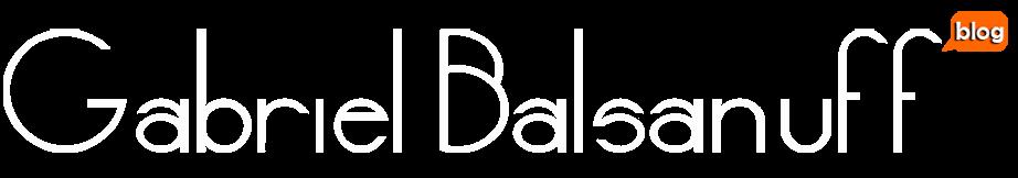 Blog Gabriel Balsanuff