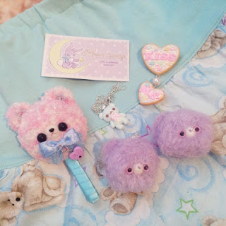 kawaii fairy kei accessories cute mintyfrills moon bunny moonbunny
