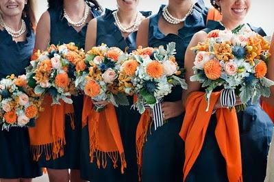 WDW (WEDDING DAY WEEKLY ) BLOGGING FOR BRIDES: More Navy Wedding Ideas