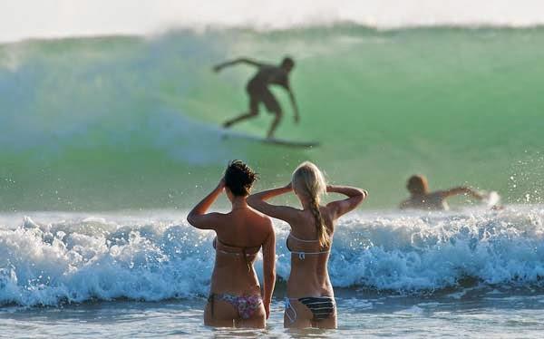 Surf at Kuta Beach