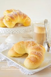 Brioches con lemon curd