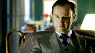 Mark Gatiss as Mycroft Holmes