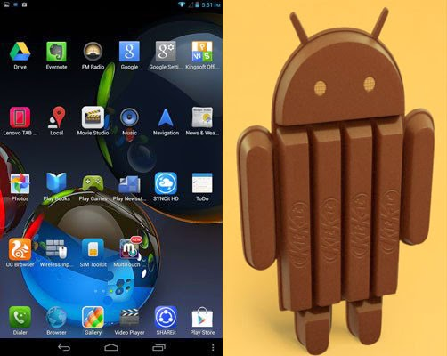 Jelly Bean Android 4.2.2 upgrade to Android 4.4.2 KitKat