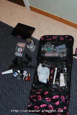 packa, bagage
