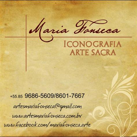 ARTE SACRA + ICONOGRAFIA + Maria Fonseca
