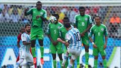 Historial de Argentina-Nigeria