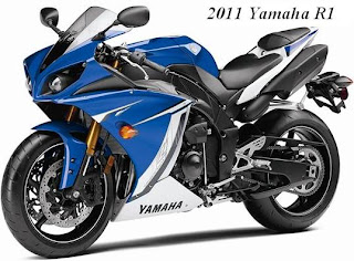 2011 Yamaha YZF-R1 front left view