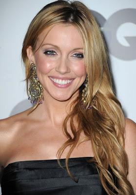 Katie Cassidy Gemstone Chandelier Earrings