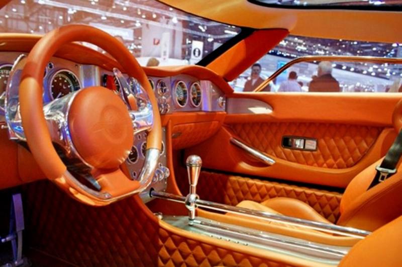cool cars spyker c12 zagato interior. Black Bedroom Furniture Sets. Home Design Ideas