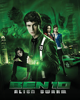 Ben 10: Alien Swarm (2009) Dual Audio Hindi 720p BDRip [800MB]
