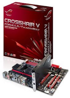 Mainboard ASUS ROG Crosshair V Formula dengan ThunderBolt