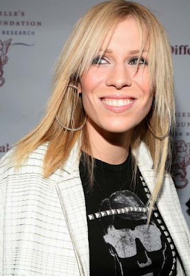 Natasha Bedingfield Diamond Hoop Earrings