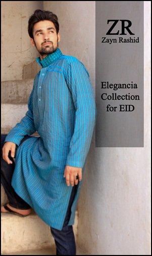 Elagancia Collection by Zayn Rashid For Men - Kurta Collection of male I Like
