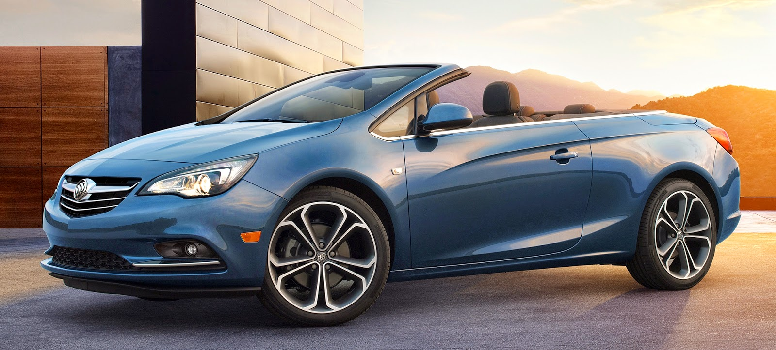 Buick apresenta cascada e avenir concept for Motor para cascada