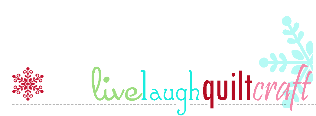 Live Laugh Quilt Craft