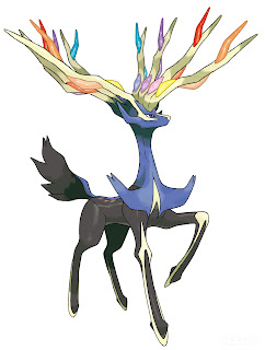 Xerneas Pokemon X Pokemon Y