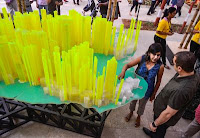 Macheta creata de Neville Mars membru al echipei Guggenheim Lab Mumbai