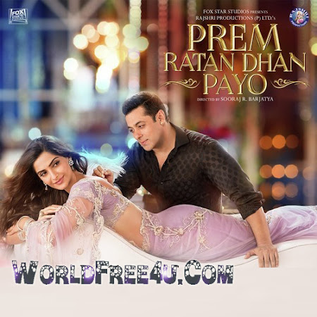 Poster Of Bollywood Movie Prem Ratan Dhan Payo (2015) 100MB Compressed Small Size Mobile Movie Free Download downloadingzoo.com