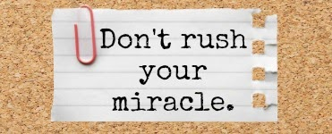 How to Look at Revision: Don't Rush Your Miracle.