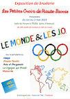 """Notre exposition  """"LE MONDE ET LES JO"""" REPORTE"""