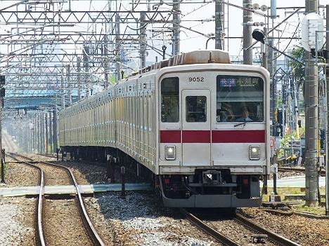 東武東上線 快速 小川町行き1 9000系