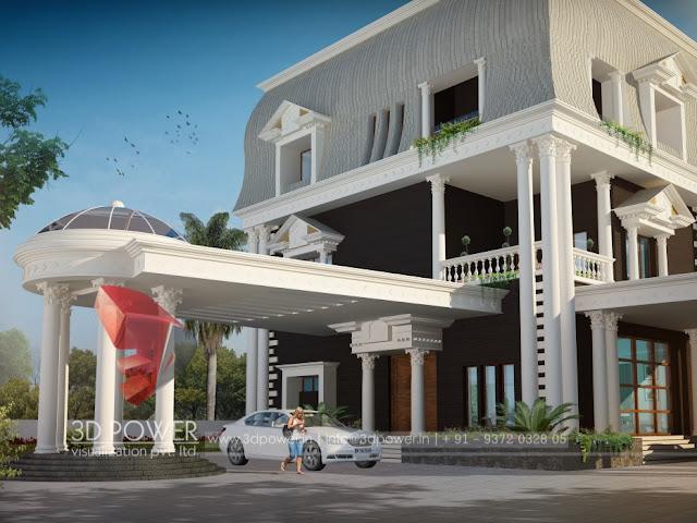 3d villa designing company