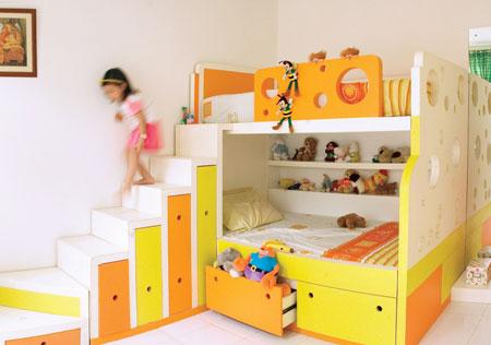 Menata kamar tidur anak memang gampang-gampang susah. Apalagi jika ini ...