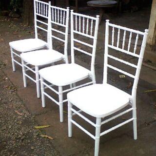 kursi makan motifbambu