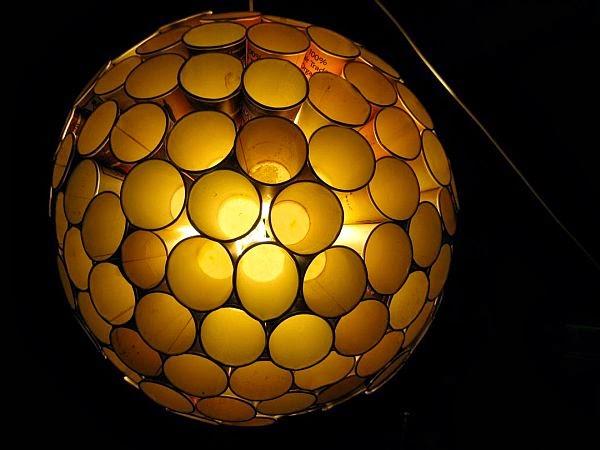 كيفية صنع وحدات إضاءة من الأكواب البلاستيك اصنع دوت نت