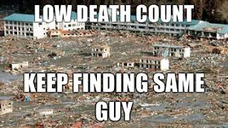 japan tsunami funny picture