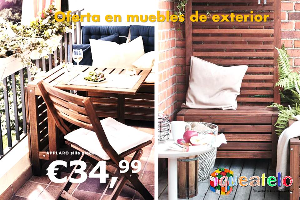 Iqueatelo montaje y transporte desde ikea valladolid for Ikea muebles de exterior