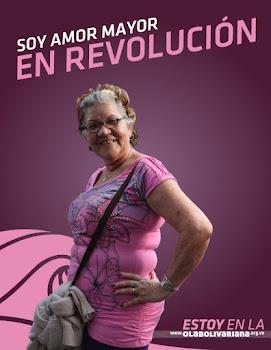 Venezuela en Amor Mayor se moviliza por la paz, contra la violencia y