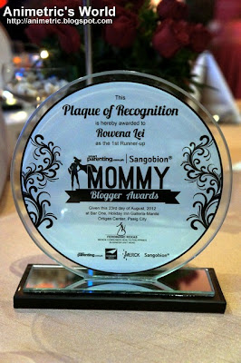 Sangobion Mommy Blogger Awards