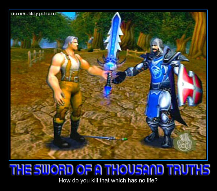 Wow Sword of a Thousand Truths The Sword of a Thousand Truths