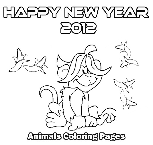Printable pages of the rooster chinese new year coloring pages for Chinese new year animals coloring pages