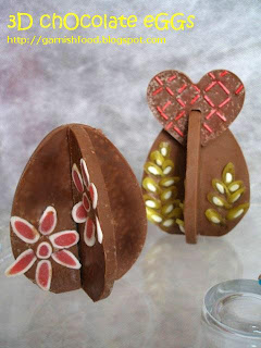 3D lekue mould chocolate