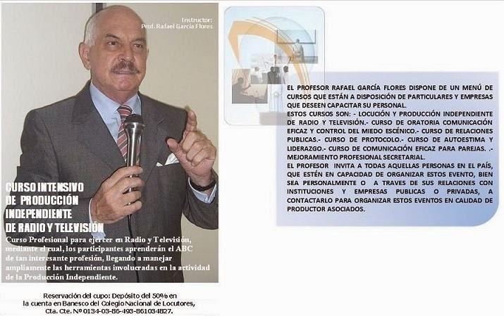 Profesor Rafael Garcìa Flores